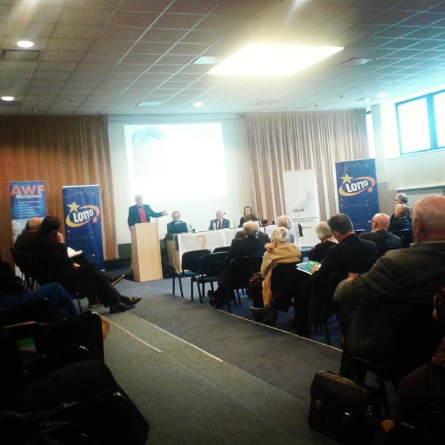 Konferencja SALOS w 2014 r. - fot. Tomasz Janus / sportnaukowo.pl