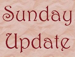 Sunday Update
