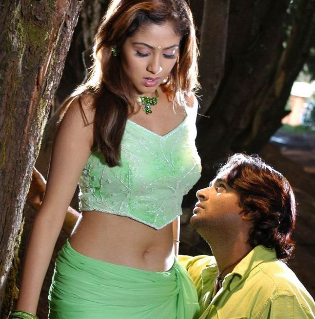 Actress Navel Kiss Photos