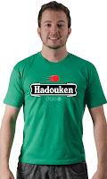 Camiseta Namorado Geek Hadouken