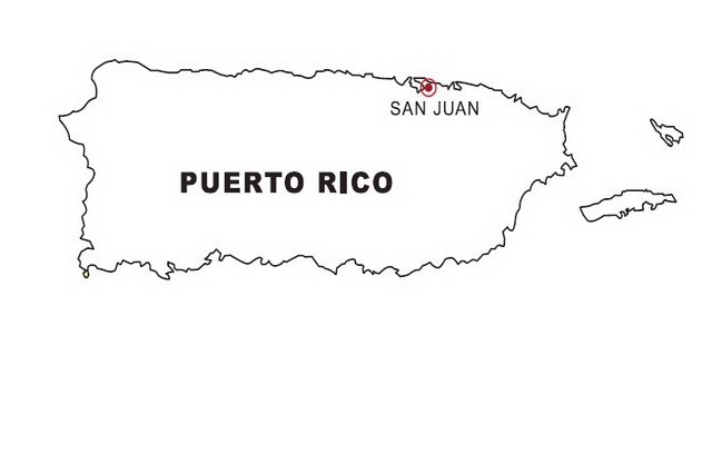 Puerto Rico Map Coloring