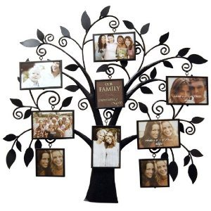 New View Family Tree Metal Collage Picture Frame