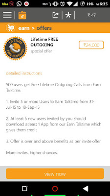 Free Lifetime Outgoing Calls