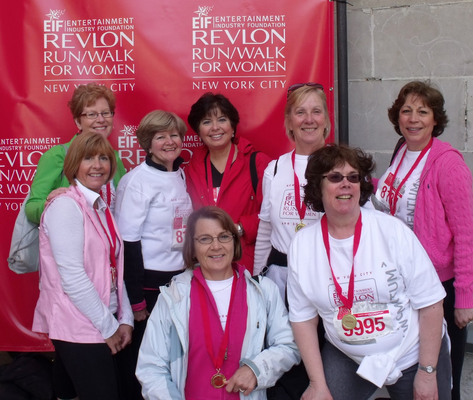 Revlon run walk for breast cancer