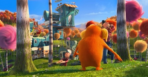 the lorax a movie review I am the lorax, i speak for the  this review was painfully dull,  i didn't like the movie but plese don't write in poetryits hard to understand.