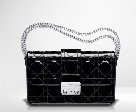 Bolso de noche Cristian Dior color negro