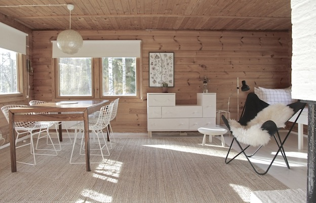 My scandinavian home an idyllic finnish cottage with an - Fotos de comodas ...