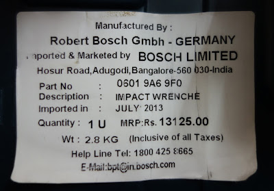 Bosch GDR 10.8 Review India