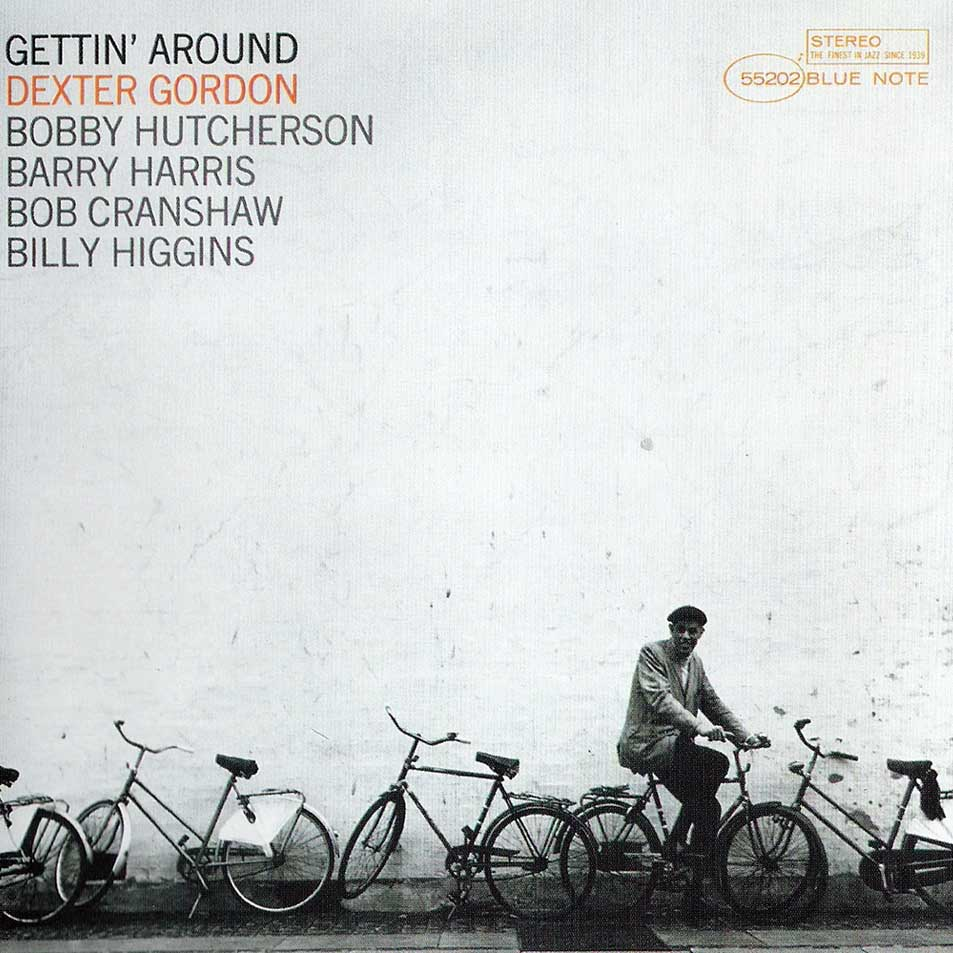 dexter gordon - gettin' around (album art)