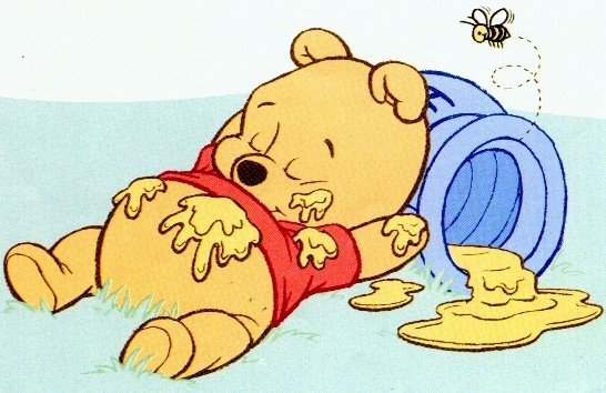 All about a stupid little girl just pooh for Winnie pooh ka che