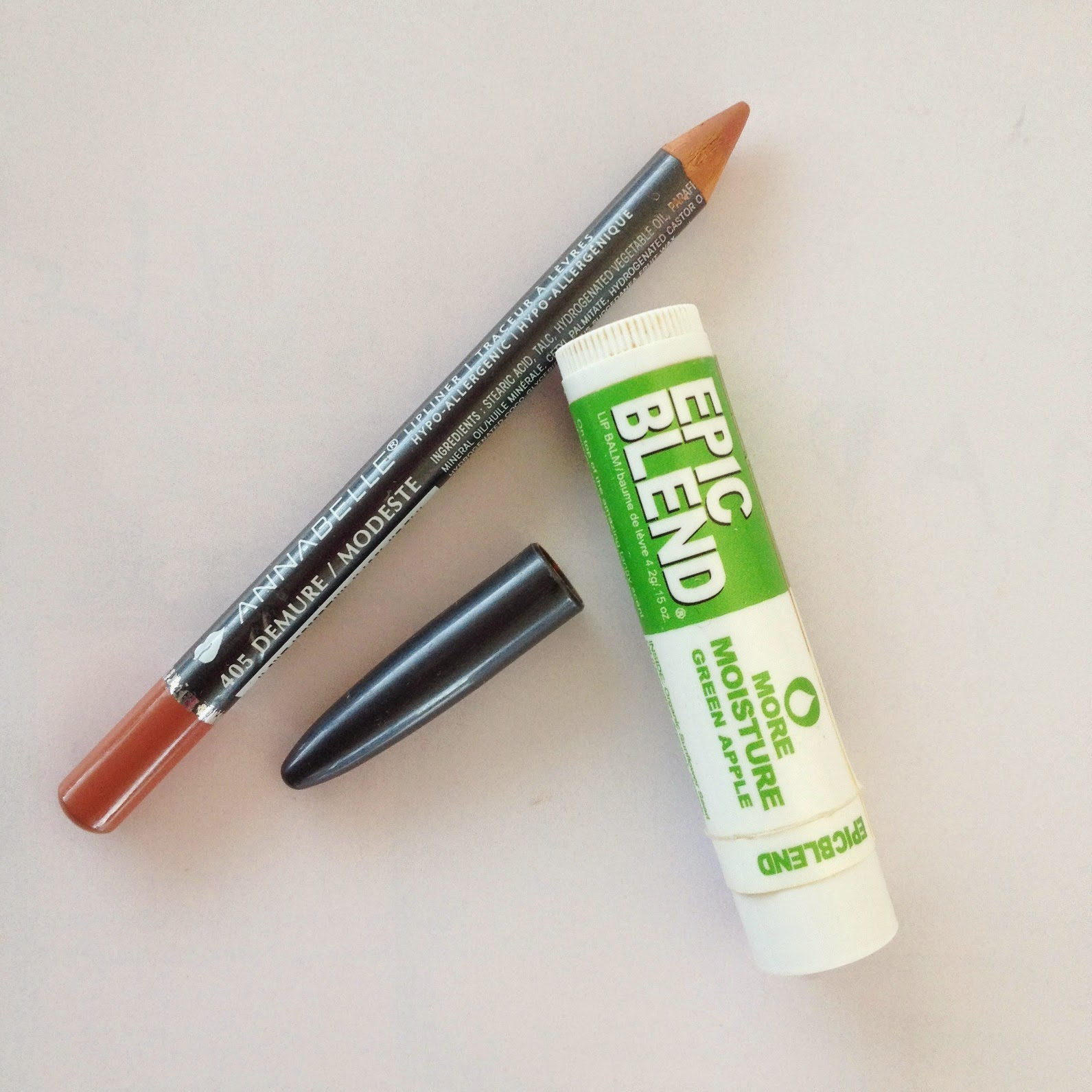 Annabelle Lip Liner in Demure Epic Blend Lip Balm