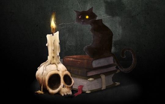 Musings and crafting poe for ipad - El gato negro decoracion ...