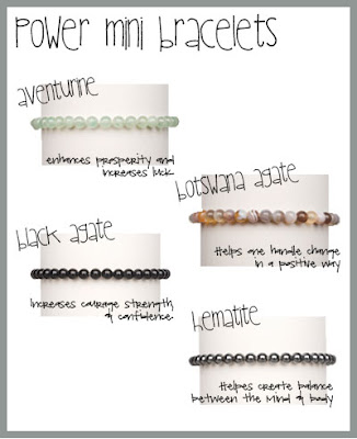 Power Mini Bracelets