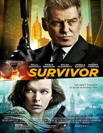 Poster Of Survivor 2015 Full Movie In Hindi Dubbed Download HD 100MB English Movie For Mobiles 3gp Mp4 HEVC Watch Online