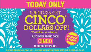 picture about Charlotte Russe Coupon Printable titled A person Lady Juggler: Charlotte Russe Cinco De Mayo Sale
