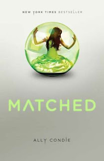 book cover of Matched by Ally Condie