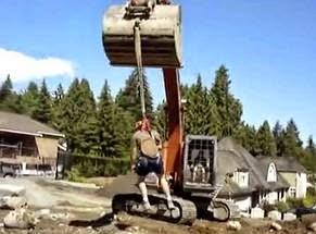 smešne slike radnika sa buldožerom