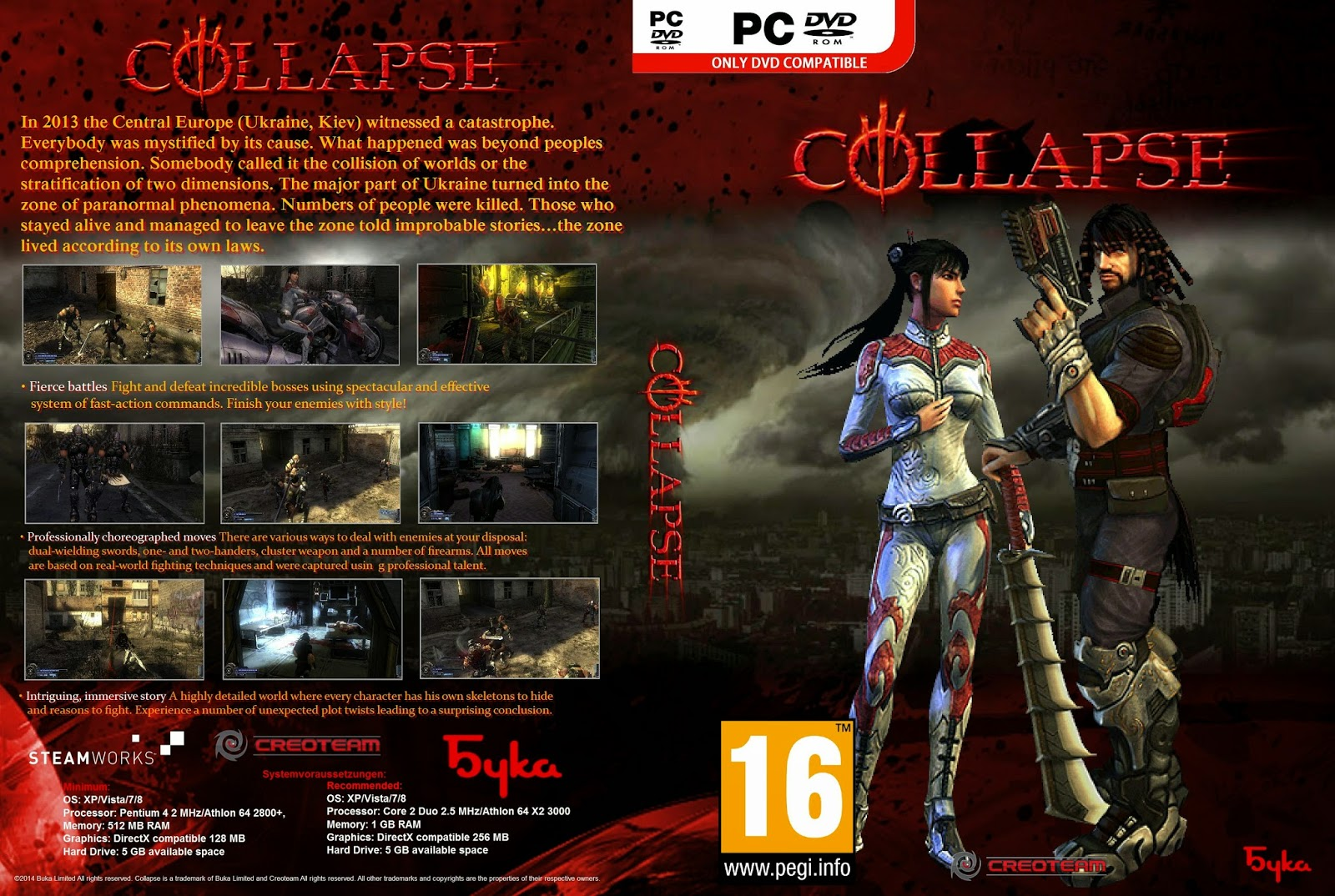 Collapse MULTI PC. monday night combat pc torrent.