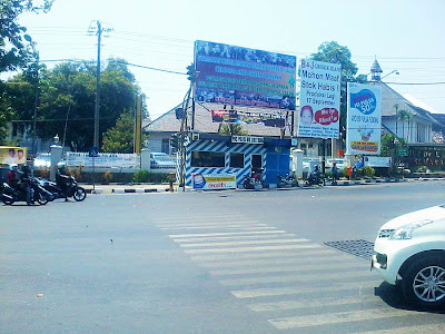 Pos Polisi Deket RSUP Karyadi Semarang