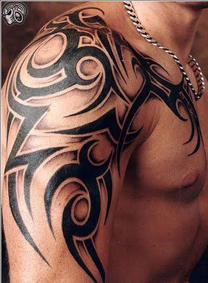 Tribal Upper Arm Tatoo Designs 1