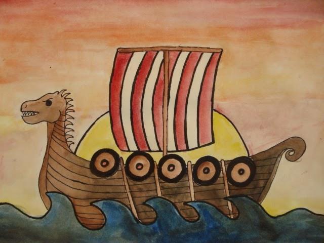 a faithful attempt: Viking Longships