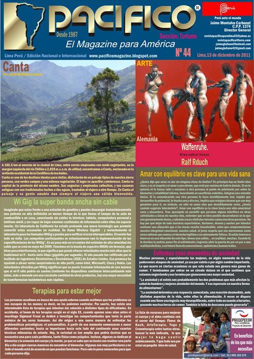 Revista Pacífico Nº 44 Turismo