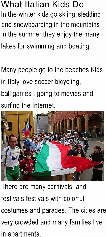 all about Italy for kids