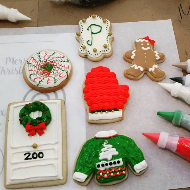 ugly sweater Christmas cookie