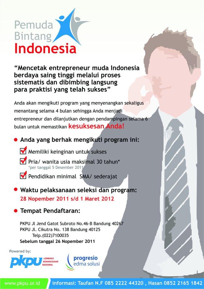 Pelatihan Kewirausahaan - Pemuda Bintang Indonesia