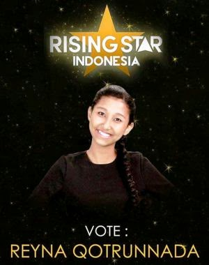 Reyna Qotrunnada - Rising Star Indonesia