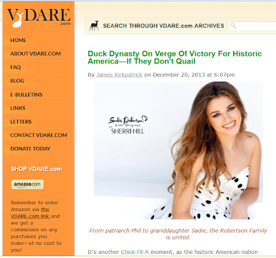 VDare - Duck Dynasty On Verge Of Victory For Historic America - If