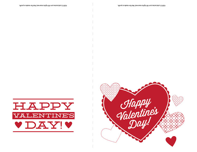 lula louise: free printable – happy valentine's day cards, Ideas