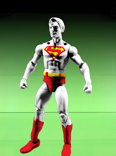 Henry Cavill Superman Man of Steel Movie Masters Action Figures Mattel MattyCollector 2013 NYCC 2012 Dark Knight Rises Rah's Al Ghul Batsignal