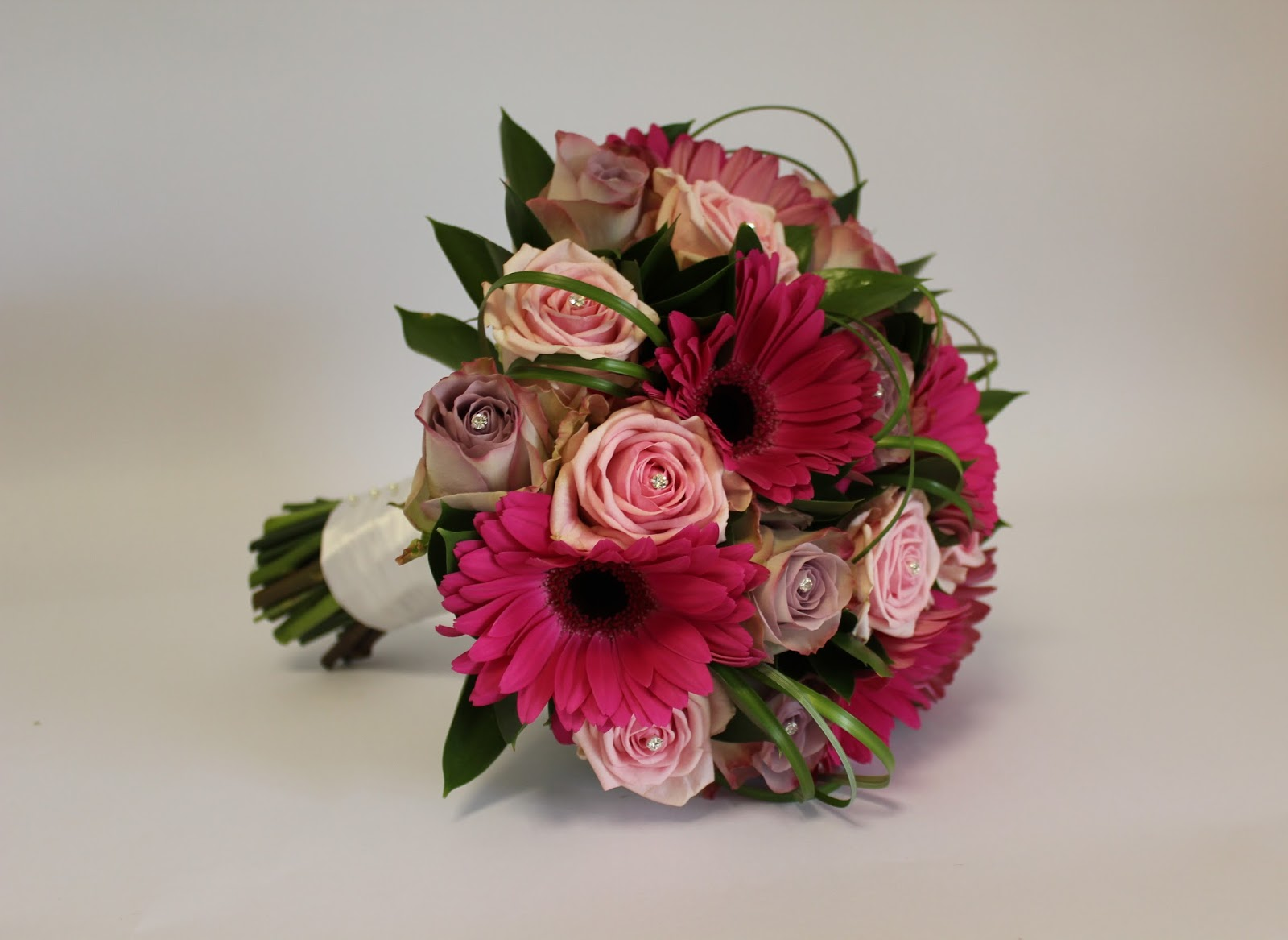 Victorian Flower Arrangements Wedding Hand Tied Bridal Bouquet Of