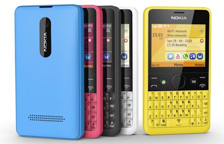 Spesifikasi dan Harga Nokia Asha 210