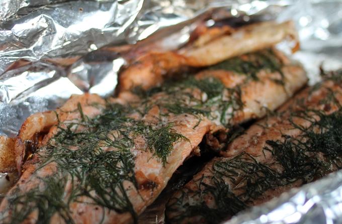 kalaa grillattuna