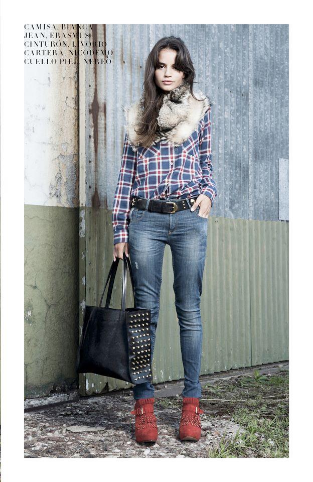 camisa escocesa Delaostia invierno 2013