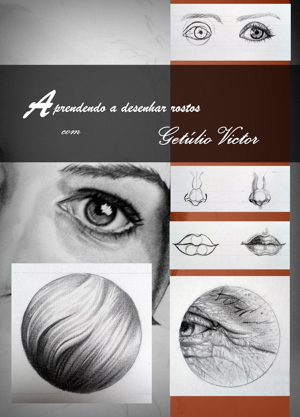 Aprenda a desenhar rostos com Getúlio Victor