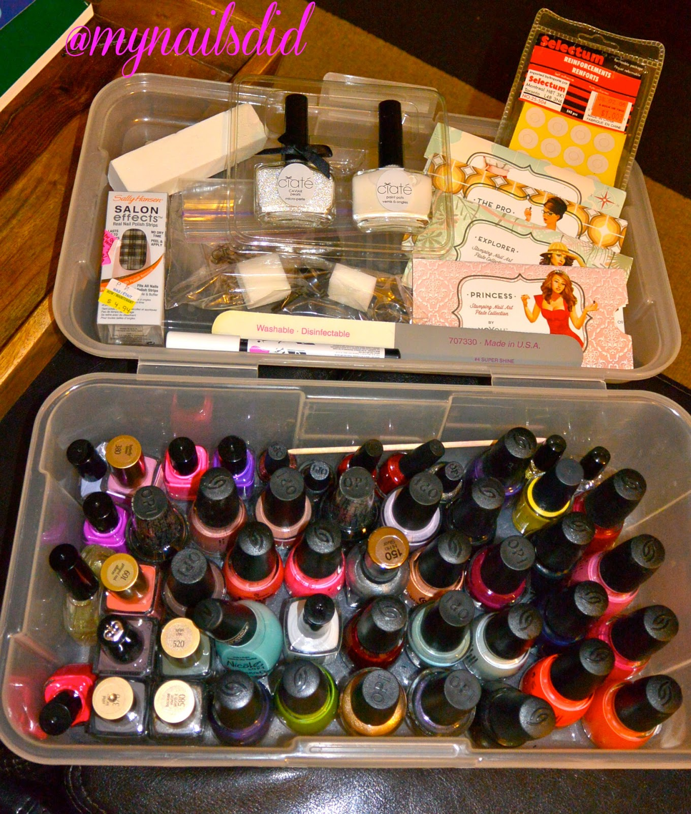 My Nails Did Nail Polish Collection