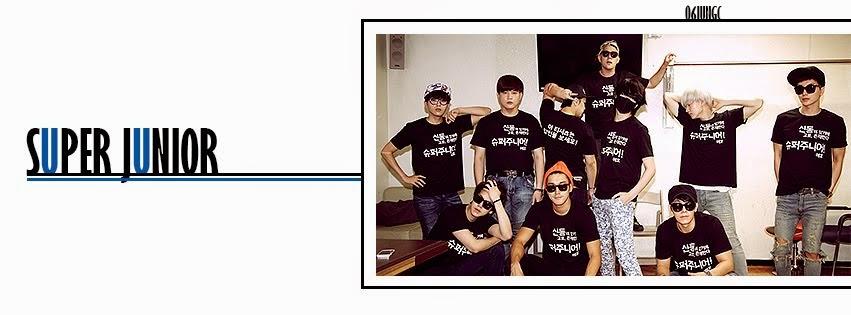 with Super Junior.