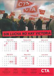 Calendario CTA 2019 - SIN LUCHA NO HAY VICTORIA