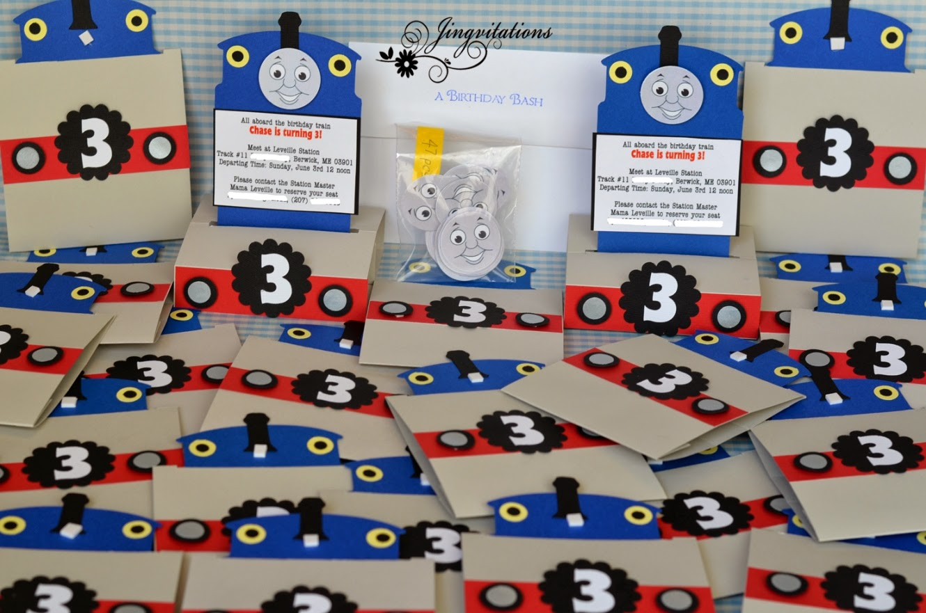 Make Your Own Thomas The Train Invitations is beautiful invitations example