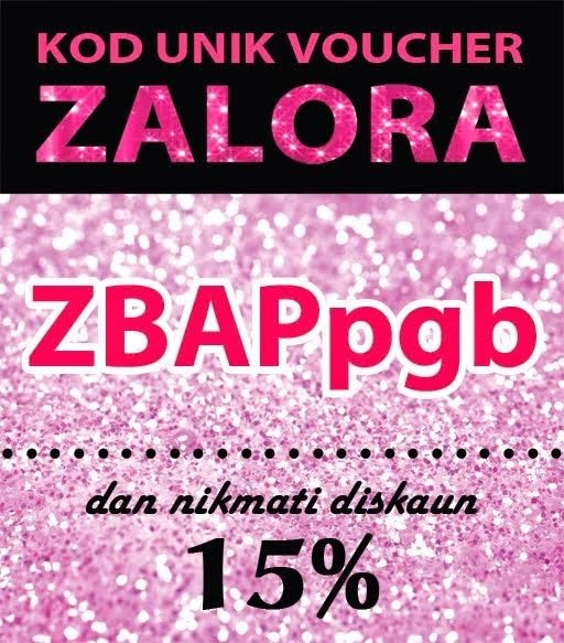 Kod Voucher Zalora untuk korang!!