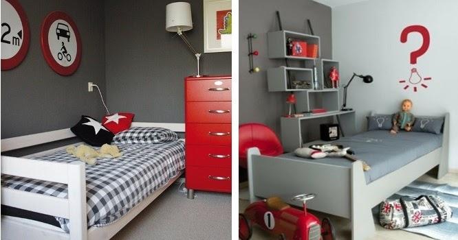 Jut en juul lifestyle for kids inspiratie rood in de kinderkamer - Kinderkamer grijs en roze ...
