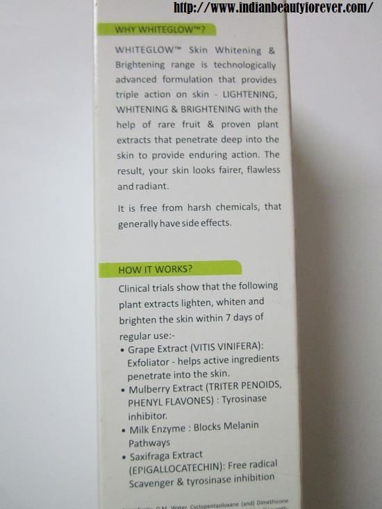 Lotus Herbals Micro-Emulsion Whiteglow