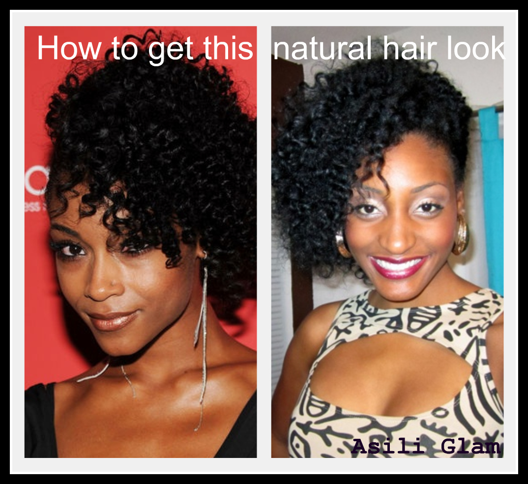 How to get this natural hair look!