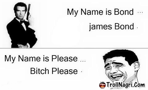 Pin james bond cartoon see the best of photos pictures on - My name is bond james bond ...