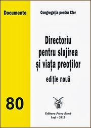 Ediția 2013 a Directoriului pentru slujirea și viața preoților