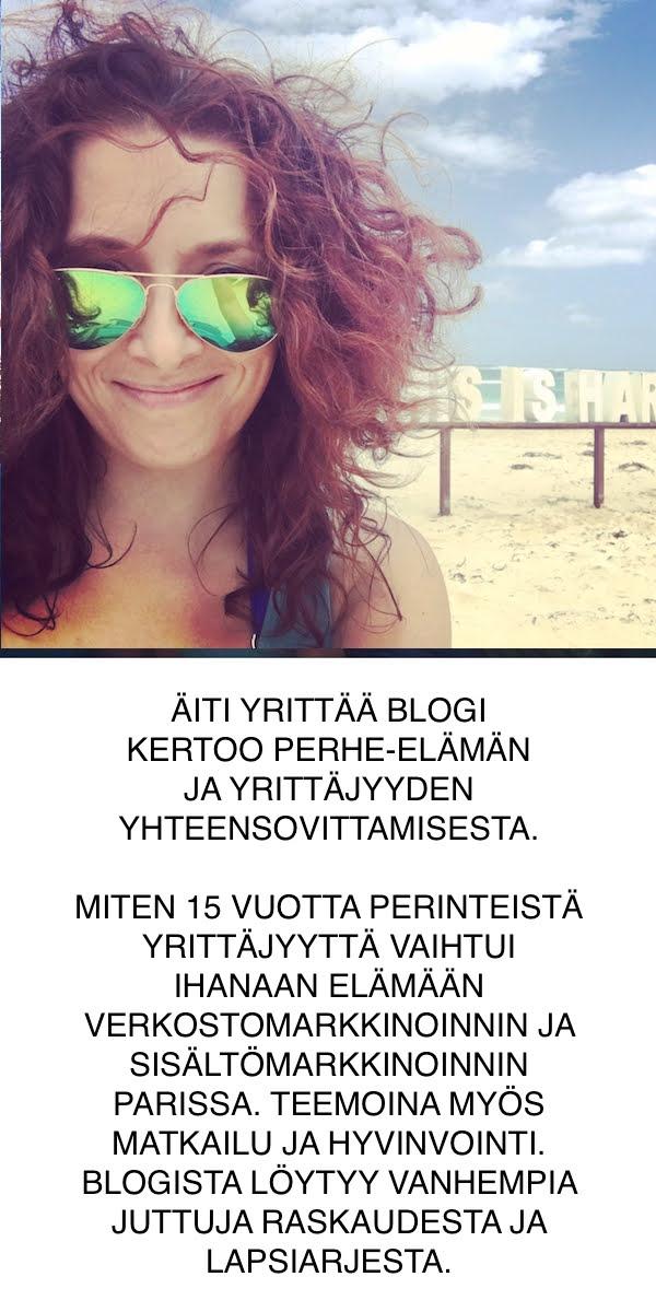 ÄITI YRITTÄÄ