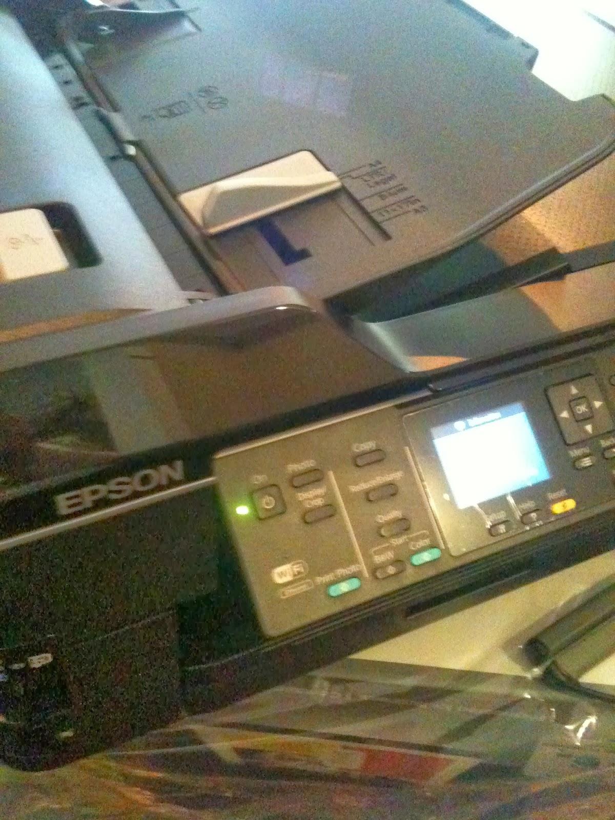 Epson WorkForce WF-7510 restablecimiento de almohadillas de impresión